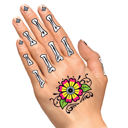 Celebrating Day of the Dead | Temporary Tattoos