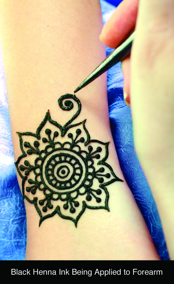 Black Henna can be Dangerous for Skin