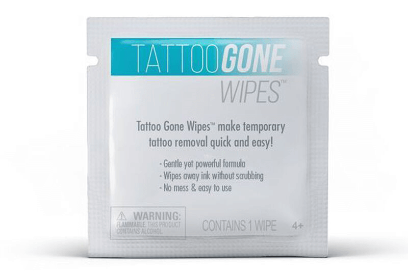how to remove temporary tattoos with removal wipes