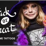 Get Spooky: Halloween with Temporary Tattoos